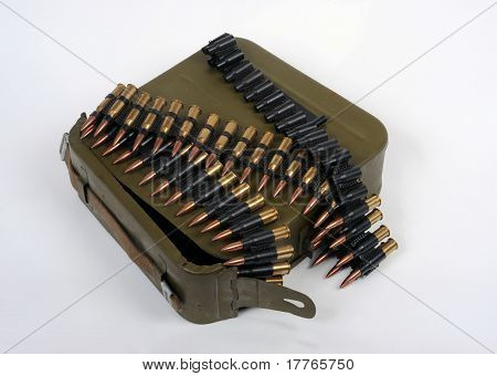 Russian Ammunition With Carrier