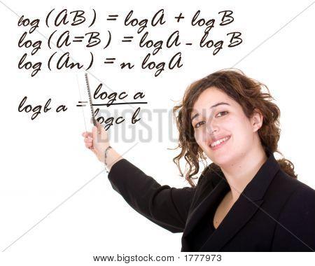 Professor de matemática feminino