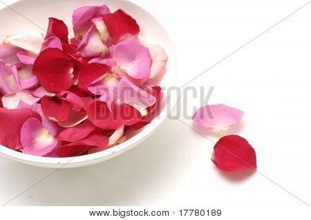 Spa still Rose petal spa