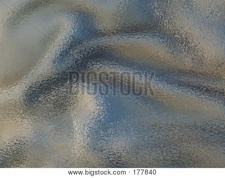 Frozen Oil On Cloth