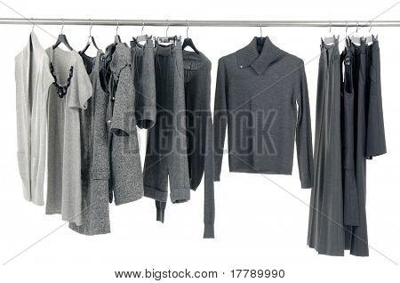 fashion autumn/winter clothes rack