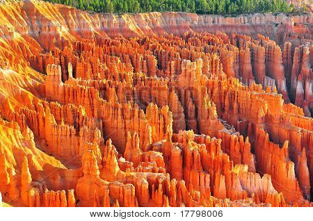 Formationen an Bryce-Canyon-ampitheater