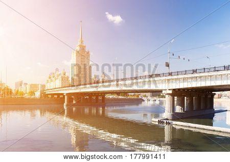 Novoarbatsky Bridge and