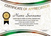 Certificate of Appreciation Certificate  awards rewards