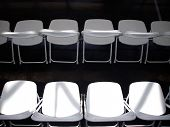 Emtpy Folding Chairs