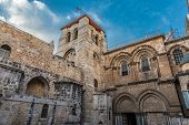 Church Of The Holy Sepulchre, Church Of The Resurrection Or Church Of The Anastasis By Orthodox Chri poster