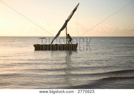 Setting Dhow Sail