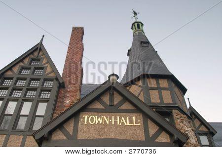Town Hall Closeup