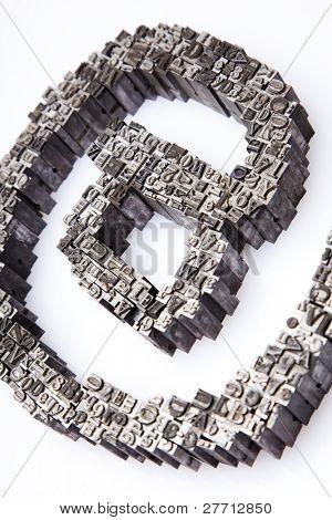 Typography symbol