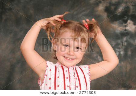 Child Keeps Hairs