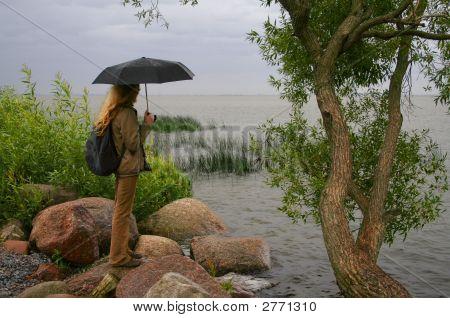 Standing Under The Rain