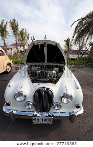 Vintage Car On Display, Thailand