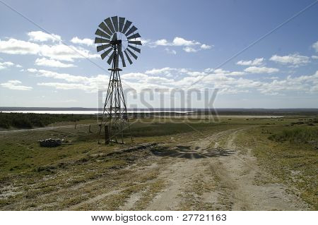 wind driven water pump