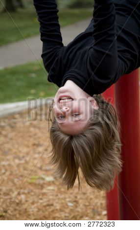 Upside Down Girl