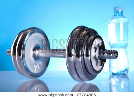 Weight loss, fitnes, Dumbell