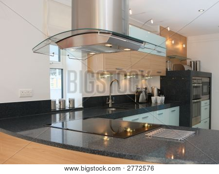 Luxury Modern Kitchen Interior