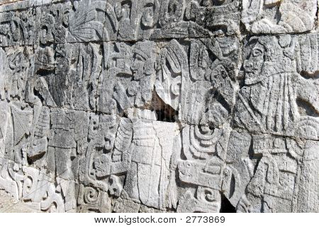 Mayan Stone Carvings 2