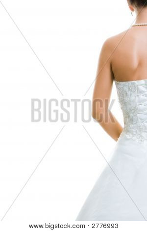Back Of Bride