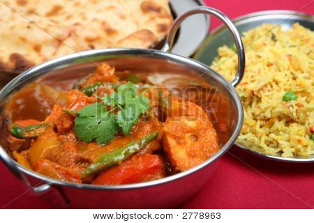 Indian Curry Dinner