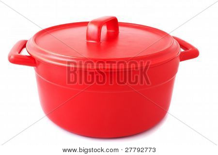 Pan Of Red Color