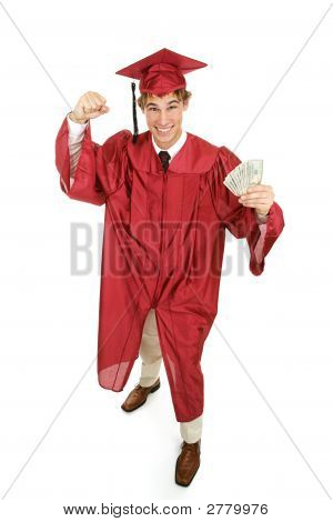 Enthusiastic Graduate With Cash