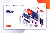 Content Marketing Landing Page. Contents Creation Specialist And Article Writers. Writing Service Is poster