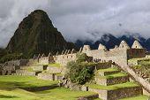 The Iconic Machu Picchu In Cuzco Region Of Peru poster