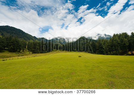 Kashmir Aru Valley Pahalgam Hill Mountain Nature