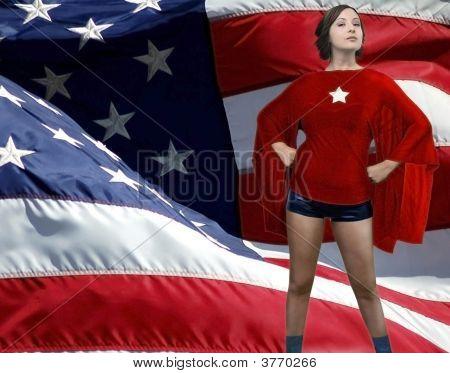 American Girl As Superheroine