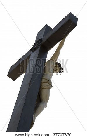 jesus cross isolated