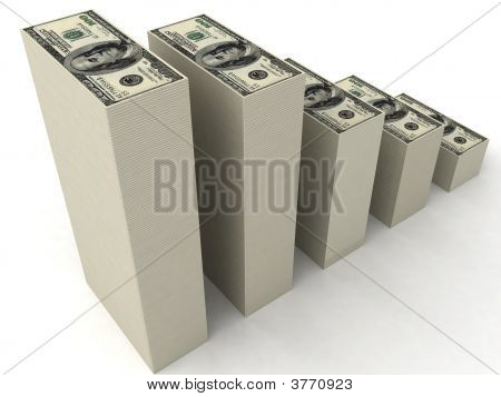 Stacks Of Dollars