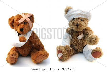 Bandaged Teddies