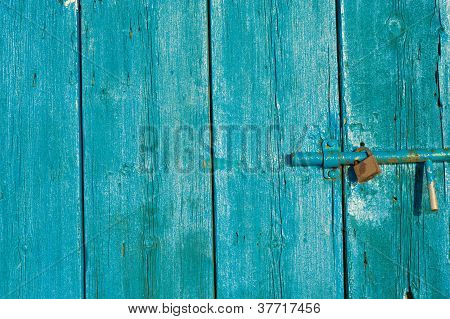 Door With Old Latch