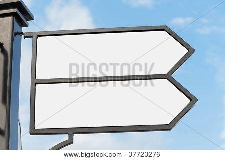 Fußgänger Weg panel