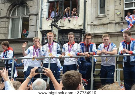 Our Greatest Team Parade In Central London 10Th September 2012