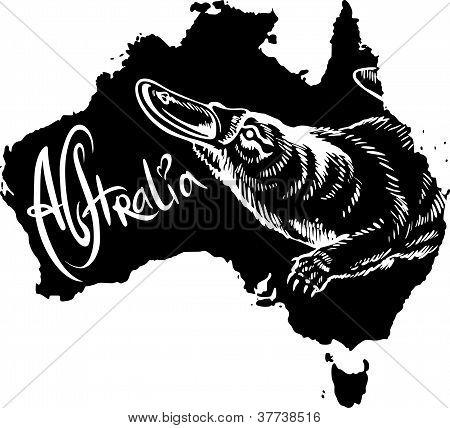 Ornitorrinco como símbolo australiano