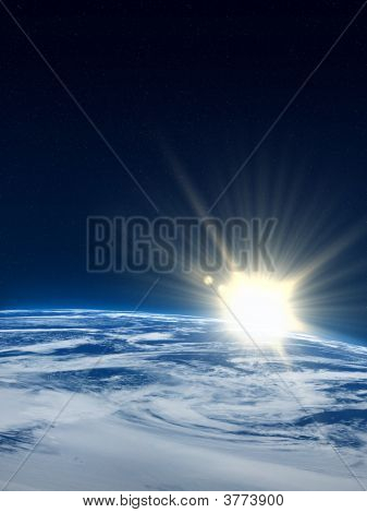 Earth Sunrise