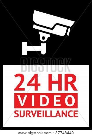 Sticker camera surveillance