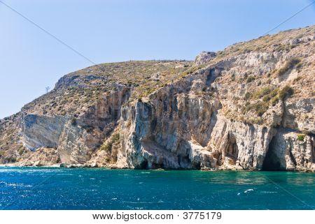 Rocky Mediterranean Beach