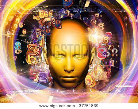 digitale Wissenschaft Hintergrund