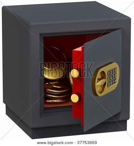 euro in the safe