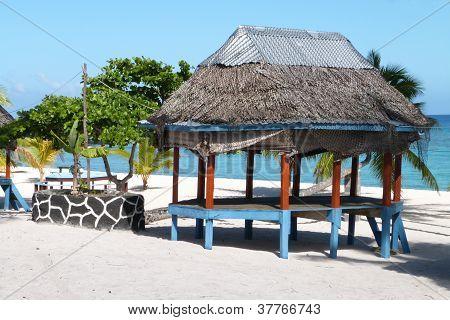 Traditional Fale Hut  - Samoa