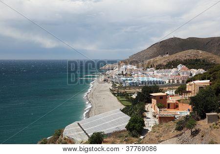 Mediterranean Coast in Andalusia Spain