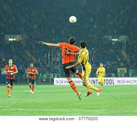 Metalist Kharkiv Vs Shakhtar Donetsk Football Match