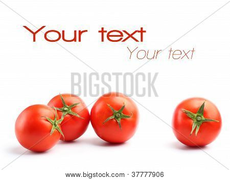 Four Red Tomatoes