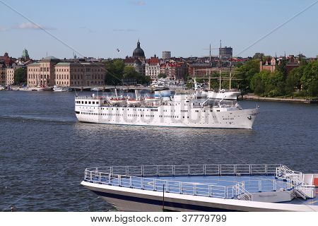 Ship In Stockholm