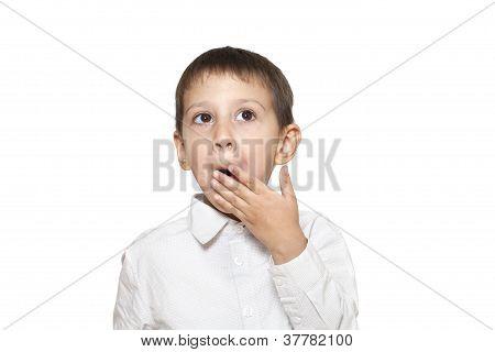 Yawning Boy
