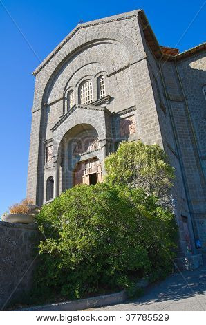 Igreja de Corpus Domini. Montefiascone. Lazio. Itália.