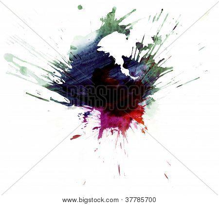 Multicolor Stain 4