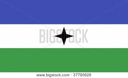 Bubi Bantu People Flag